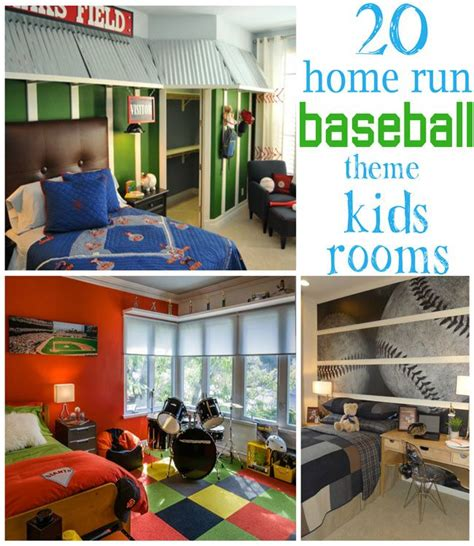 baseball themed bedroom decoration ideas home decor