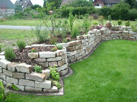 Steinmauer Bauen Schanes Tolles Garten Gestaltung Deko Von
