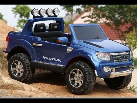 ford ranger kinderauto ford ranger 2 sitzer neu kinderauto 12v 2 4 ghz rc usb sd radio