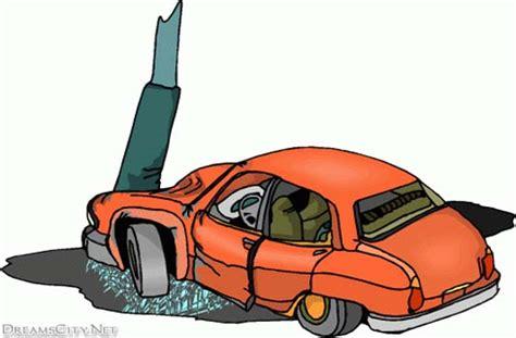 animated wrecked animated car crash clipart