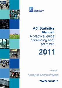 Aci Statistics Manual  A Practical Guide Addressing Best
