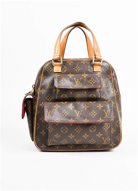louis vuitton coated canvas monogram excentri cite bag