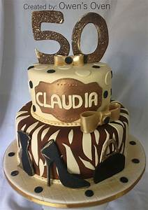 Owen Designs 50th Birthday Cake 50th Birthday Cake 50th Cake 50th