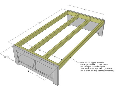 woodworking plans daybed  storage woodworking plans