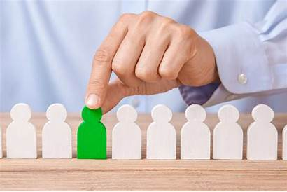 Selection Process Hiring Worker Choosing Hires Leader