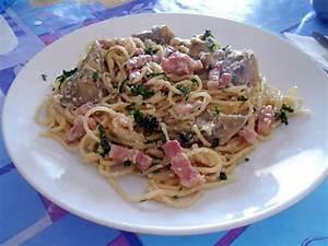 Artichaut Recette Simple : recette de spaghetti alla carbonara et artichauts ~ Farleysfitness.com Idées de Décoration