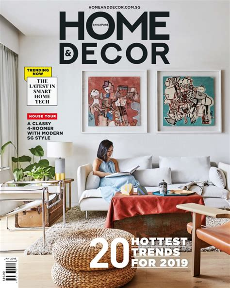 home decor singapore magazine january  gramedia