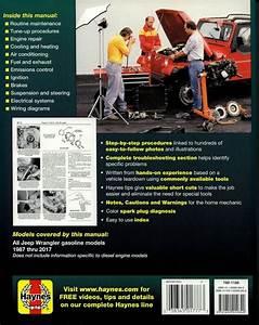 Jeep Wrangler Repair Shop Manual 1987-2017