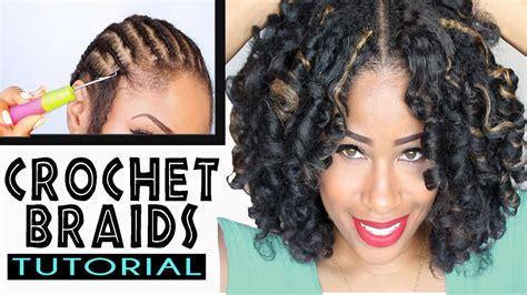 Crochet Braids W/ Marley Hair ! (original No-rod