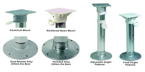 Boat Seat Adjustable Height Pedestal by Swivel Seat Pedestal Adjustable For Yachts Motorboat On