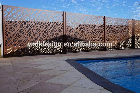outdoor screen panel   park garden wall decoration