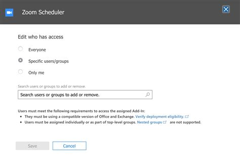 Office 365 Outlook Zoom by Office 365 Outlook Web Add In Zoom Help Center