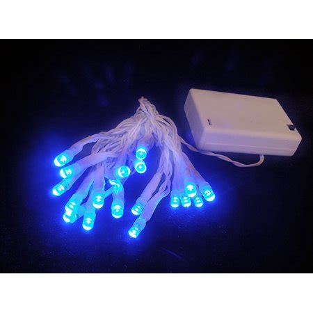 battery operated led lights walmart set of 20 battery operated blue led wide angle