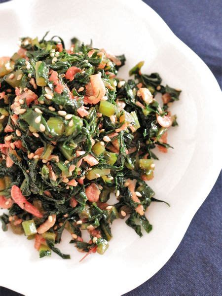 大根 の 葉 レシピ 人気