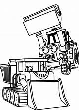 Bob Coloring Builder Tractor Printable Bulldozer Colorare Disegni Aggiustatutto Colouring Tab Android Coloringsun Truck Gratis sketch template