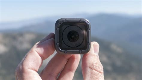 gopro hero session shows   cube camera  grown  cnet