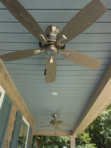 outdoor porch ceiling fans front porch ideas exterior farmhouse with exposed rafters