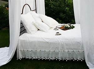 Parure De Lit Romantique : housse de couette romantique 220x240 linge de maison ~ Teatrodelosmanantiales.com Idées de Décoration