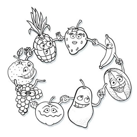 Coloring Fruit by Get This Fruit Coloring Pages Free Printable 17256