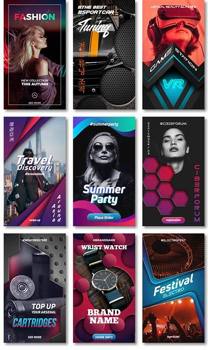 Ig Stories Poster Layout Creative Flyer Social