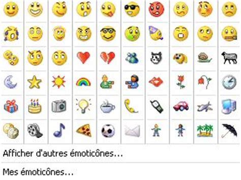 comment faire apparaitre les icones sur le bureau messagerie instantanée