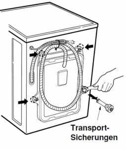 Bosch Waschmaschine Transportsicherung : waschmaschinen transportsicherung funktion und nutzen ~ Frokenaadalensverden.com Haus und Dekorationen