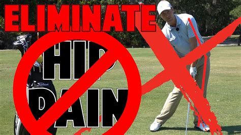 GOLF SWING HIP PAIN SOLUTION - YouTube