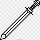 Sword Coloring Colorir Espada Desenho Icon Drawing Desenhos Espadas Pngwave Ultra Pintar Imprimir sketch template