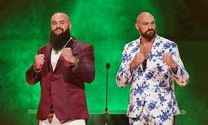 Early betting odds for Tyson Fury vs. Braun Strowman at ...