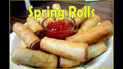 spring rolls  home indian cooking recipes