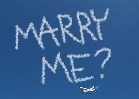 Marry Me Skywriting Free Stock Photo - Public Domain Pictures