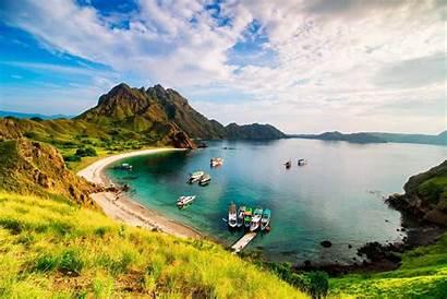 Island Padar Indonesia Komodo Visit Pulau National