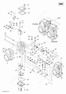 Ski Doo 2011 Summit - Sport 600  Carburetor