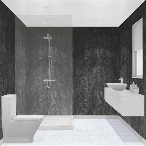 Badezimmer Wand by Multipanel Barker Graphite Elements Unlipped