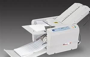 mbm 307a automatic programmable letter folder With electric letter folder