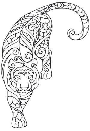 Чудесные раскраски животные.(очень много)2 часть | coloring pages | Pinterest | Ausmalen