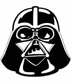 Darth vader, Stencils and Face stencils on Pinterest
