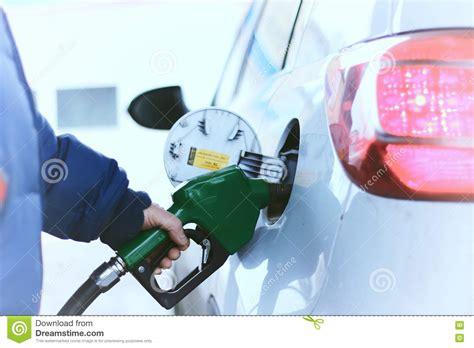 Car Refueling Gasoline Stock Photo