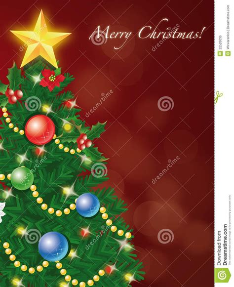 christmas tree cards special day celebrations