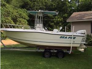 Sea Pro Boats For Sale In Alabama