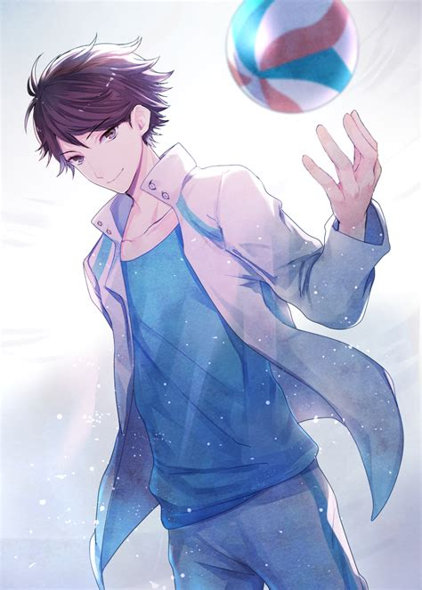 oikawa tooru mobile wallpaper zerochan anime image board