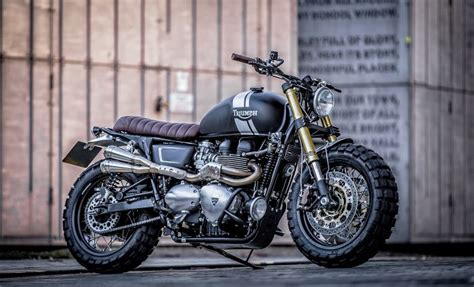 Down & Out Cafe Racers Triumph T100   The Bike Shed