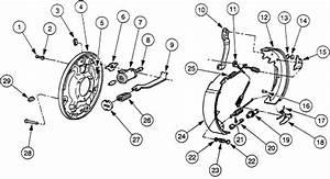 1999 Ford Ranger Rear Brake Diagram