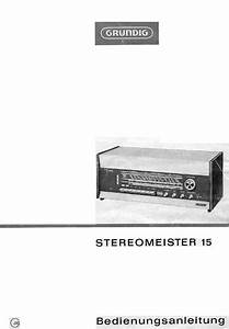 Download Grundig Stereomeister 15 Owners Manual