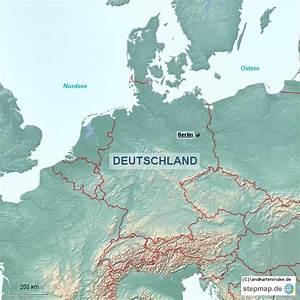 Deutschland Physische Karte : physische landkarte von deutschland 2 von landkartenindex landkarte f r deutschland ~ Watch28wear.com Haus und Dekorationen
