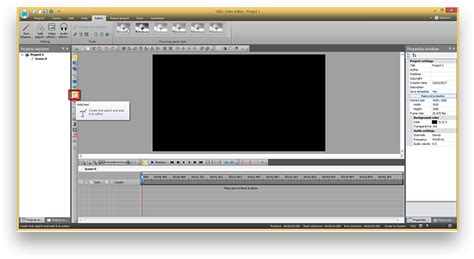 add  video  text mask  vsdc video editor