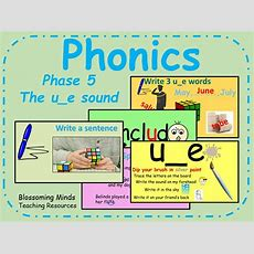 Phonics Phase 5  Split Digraph  The Ue Sound By Blossomingminds  Teaching Resources