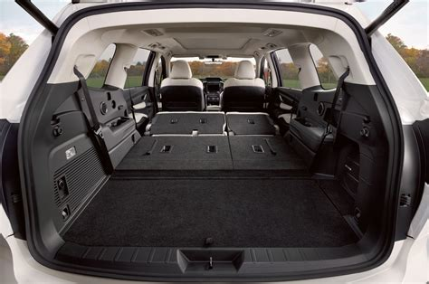 cargo space updated subaru ascent forum