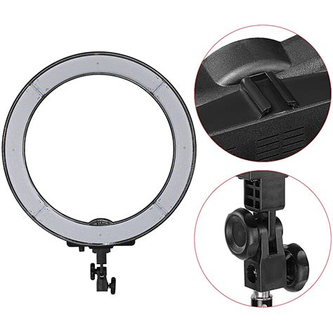 Neewer 18 Quot 48cm Dimmable Led Smd Ring Light Kit For Video