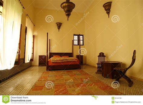 arabic bedroom morocco stock photo image 8144730